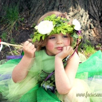 How to  Make Your Little Girl a Woodland Fairy Crown