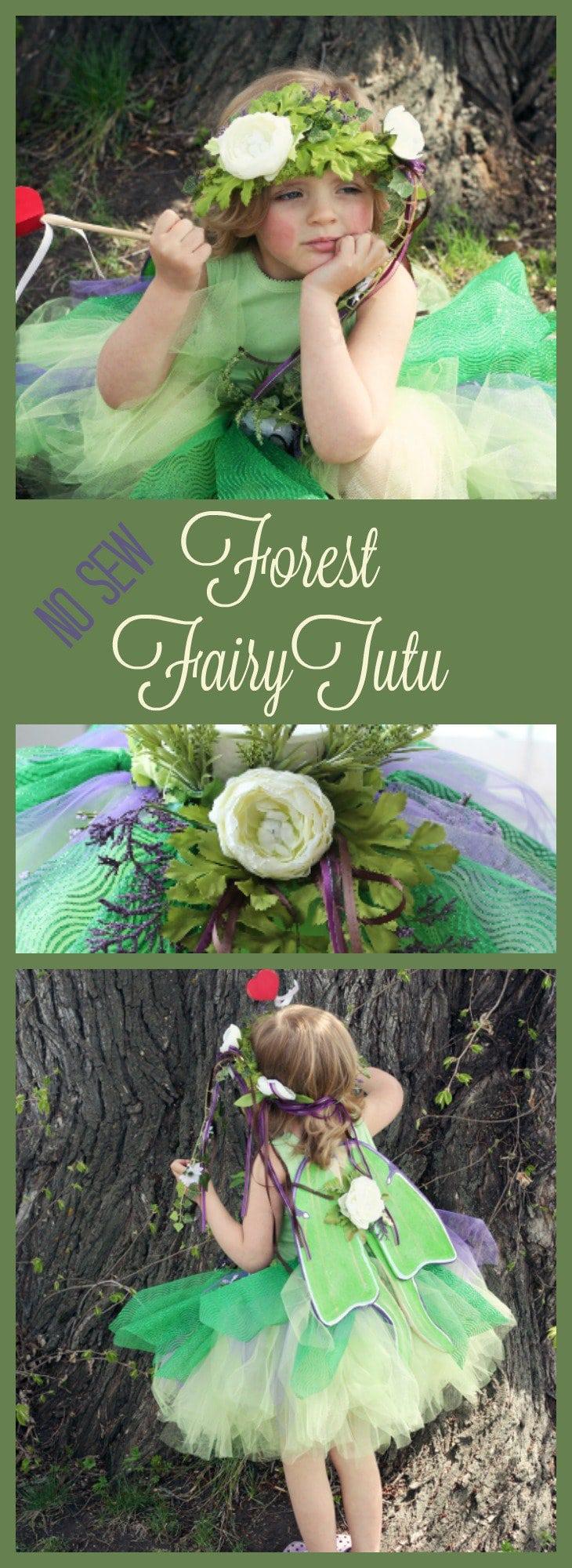 forest fairy tutu, fairy costume, tutus for girls fairy tutu diy fairy tutu, no sew tutu, no sew fairy tutu