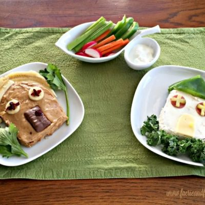 Open face sandwich recipe for kids, a fun and easy lunch idea for kids to introduce new foods.