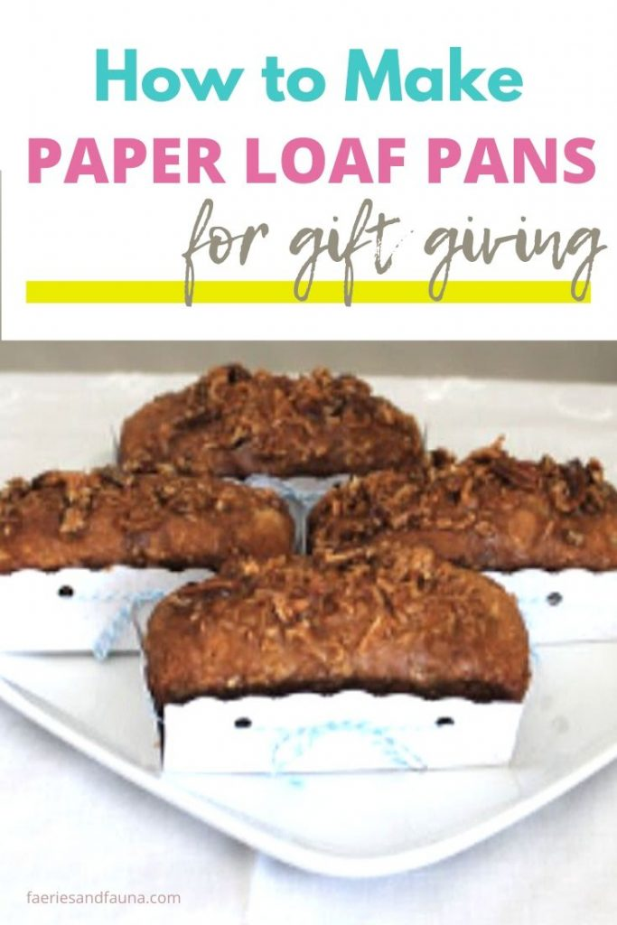 How to make Disposable paper gift boxes for loaves.