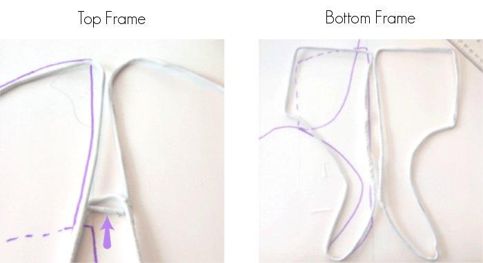 DIY Fairy Costume Wire Frame