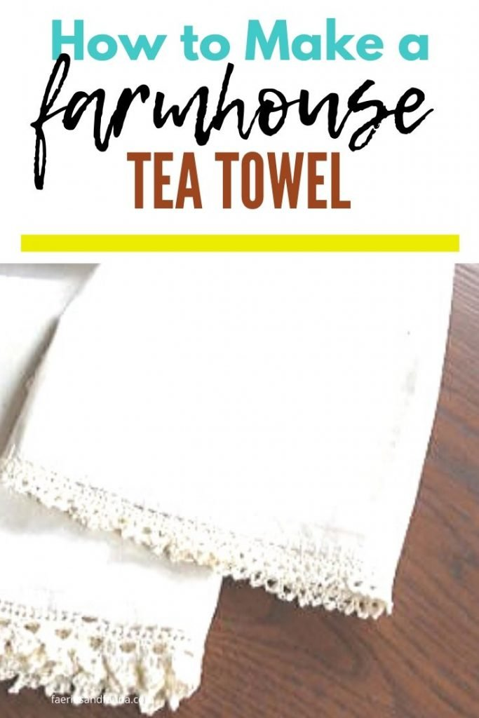 Home made tea towels with crochet edging. Made in a custom size with pure cotton.
