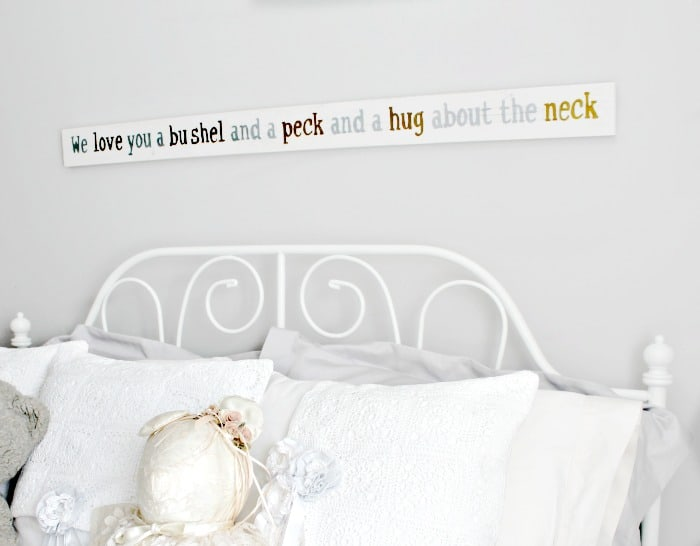 diy kids wall art,  diy wall art, bushel and a peck, diy wood art, diy rustic art, bushel and a peck rustic wood wall art,