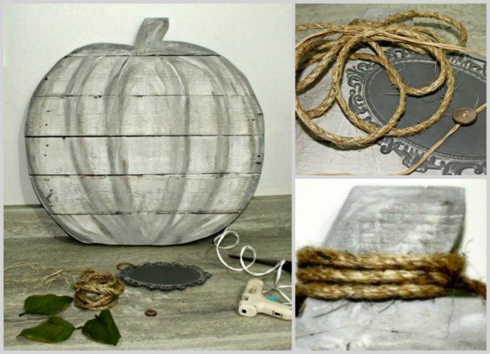 Pumpkins, Pallet projects, pallet pumpkins, outdoor fall decor, neutral fall decor, DIY Fall Decor