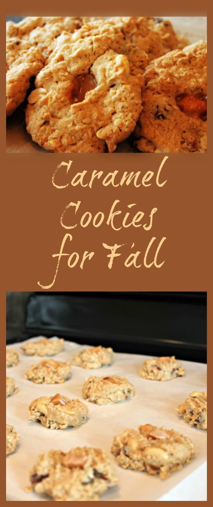 Caramel, Cookies, Baking, Fall