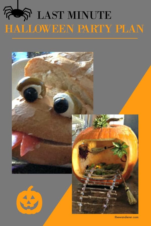 Halloween Party Idea Collage