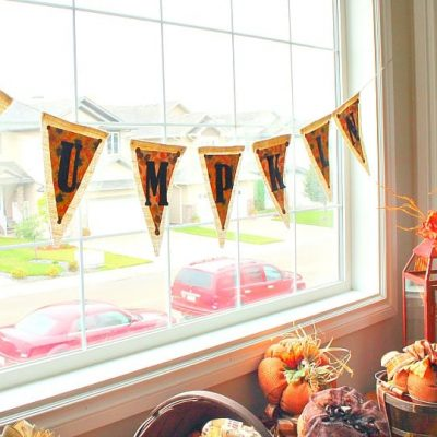 Pumpkin Pennant