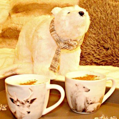 Warm Honey Bear Milk for Children