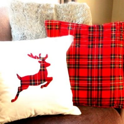 DIY Christmas Cushions of Many Kinds
