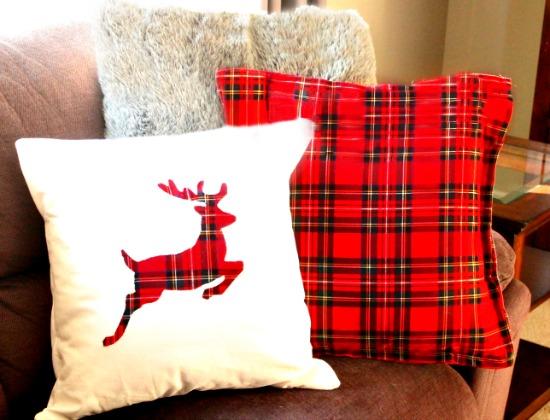 Handmade DIY Christmas Cushions