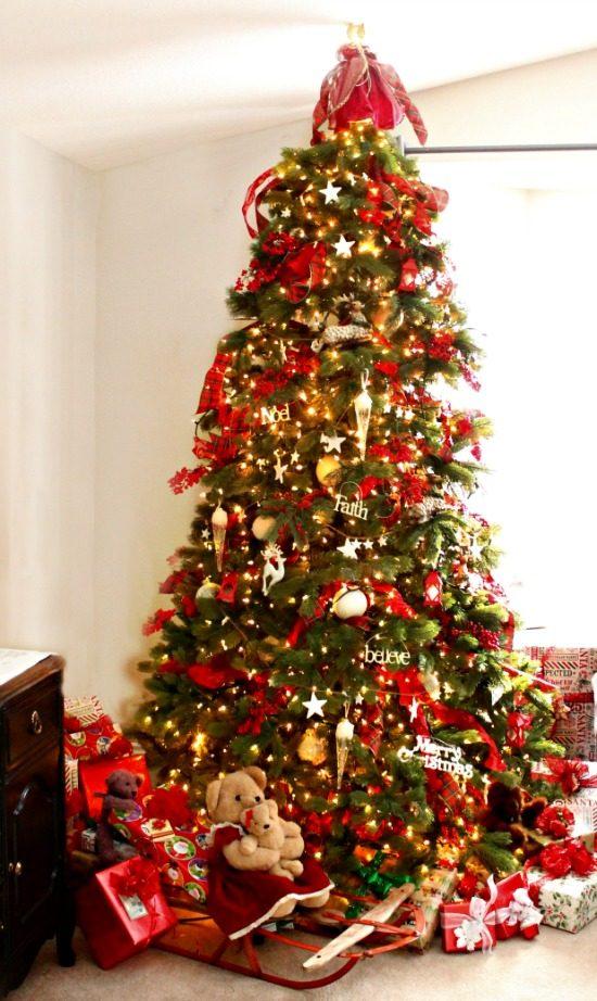 Christmas, Christmas Tree, Decorating, Home Tour, Home Decor, Crafts DIY