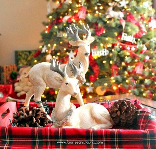 Christmas, Vignette, Home Tour, Home Decor, Crafts, DIY