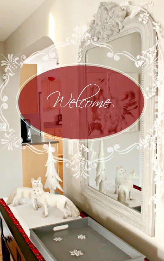 Christmas, Home Decor, White Christmas, Tartan