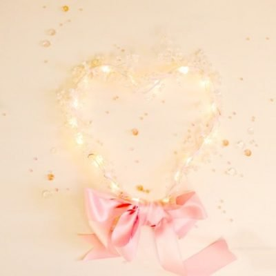 Light up your Valentine's Day Wreath
