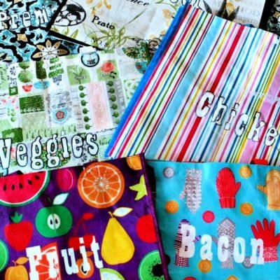 Best Method for Organizing your Freezer – DIY Labelled Bags