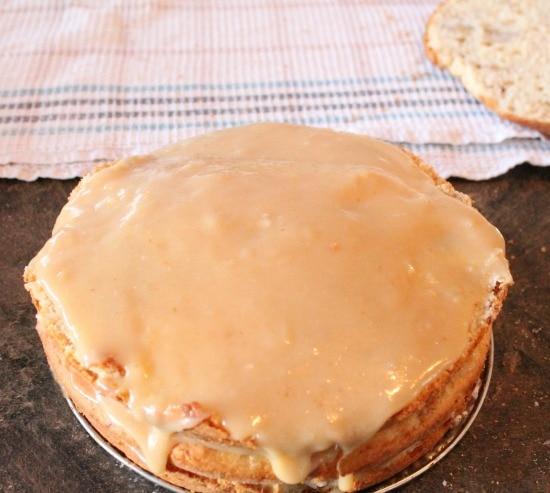 Banana, Coconut, Cake, Baking Recipe, Recipe