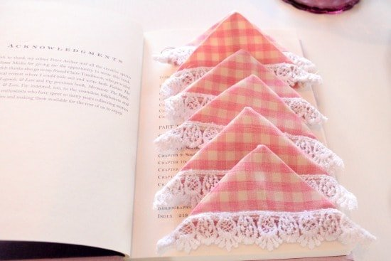 Book Mark, Sewing, DIY, Crafts