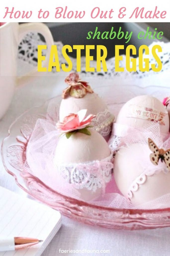 How to blow out Easter eggs and decorate