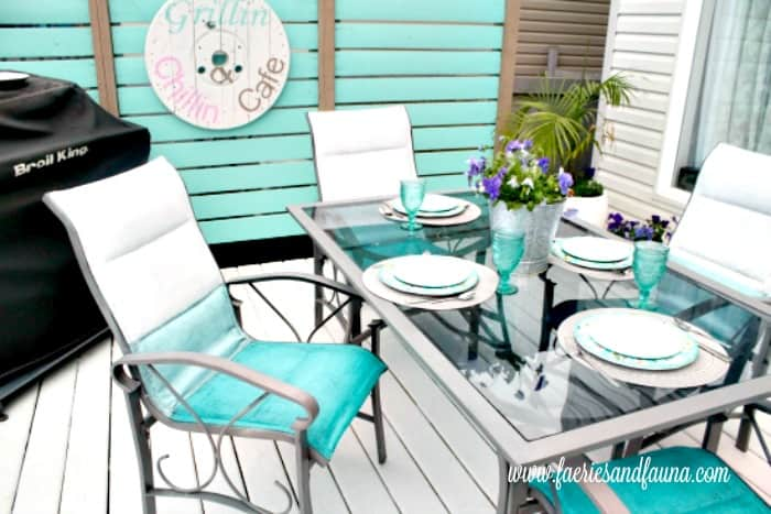 Ombre Chalk Paint Patio Chair Makeover, What Is Chalk Paint For Outdoor Furniture
