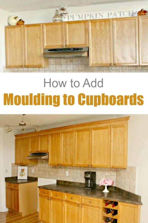 How to Add Moulding to Existing Cupboards
