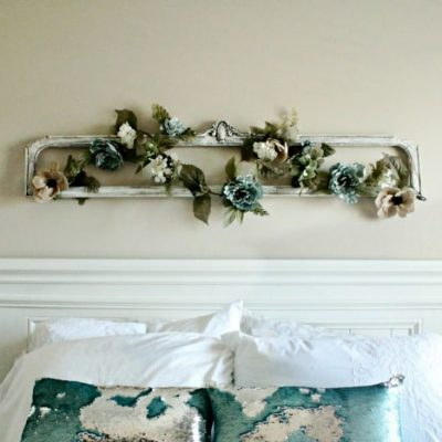 DIY Farmhouse Bedroom Wall Art