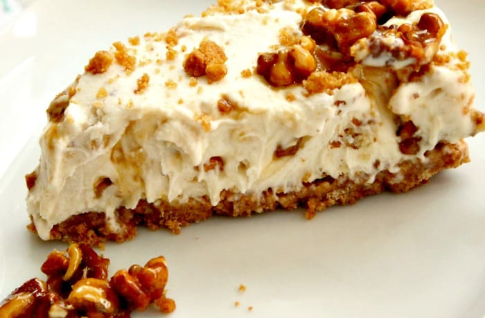 Maple walnut ice cream dessert recipe.