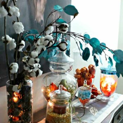 Huge Assortment of Apothecary Jar Ideas for Fall