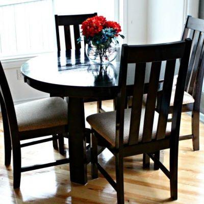 Simple DIY Table Refinishing