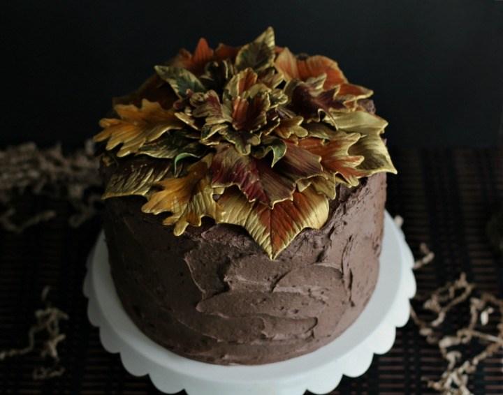 Elegant fall dessert idea.