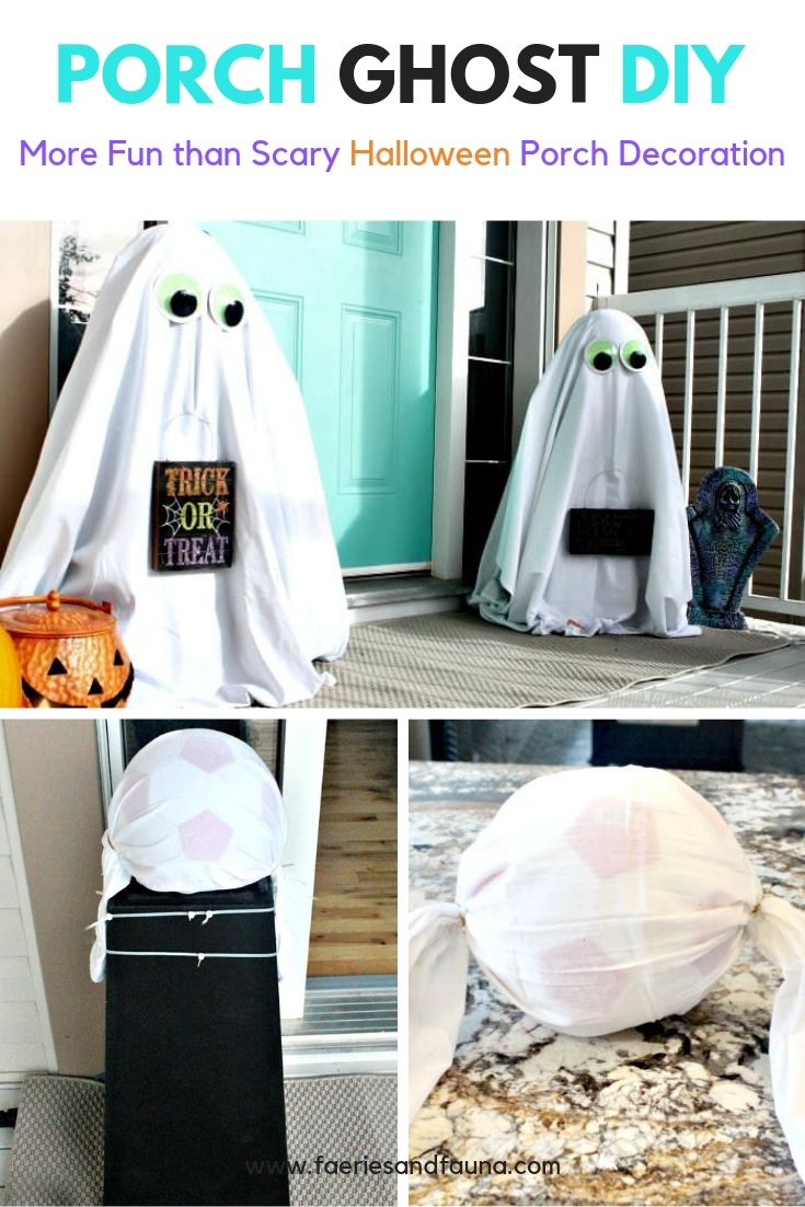 How to Make Outdoor Ghosts forHalloween