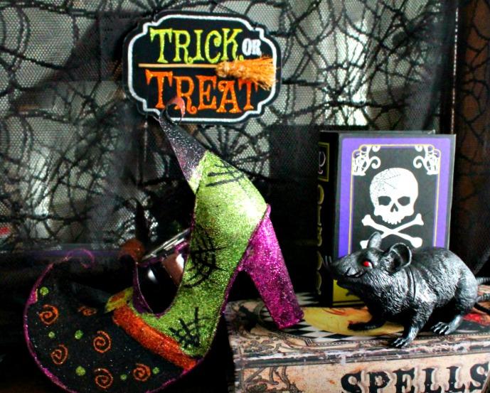 DIY witch hat, witch hat decoration ideas, hat witch designs