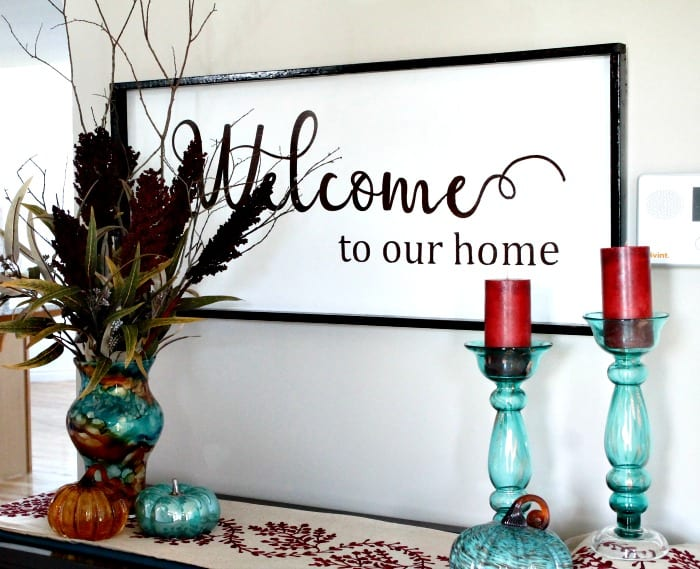 DIY Welcome Sign, DIY wood sign, farmhouse sign, farmhouse art