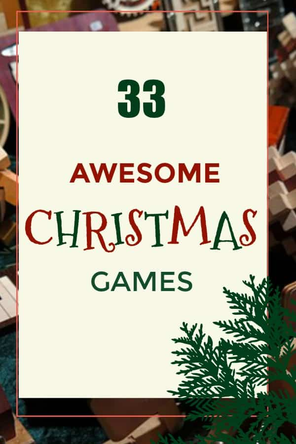 33 Awesome Christmas Games