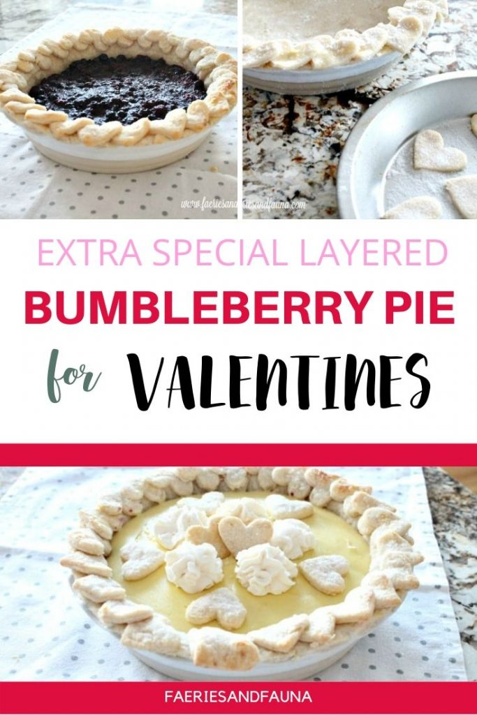 Bumbleberry Pie recipe for special occasions. A special Valentines Dessert Recipe