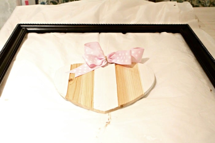How to make an easy Wooden Heart Valentines Day Craft idea for your home