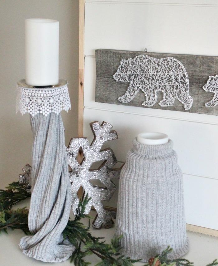 winter farmhouse decor, winter decorating ideas, januarydecorations, vignette, winter home ideas