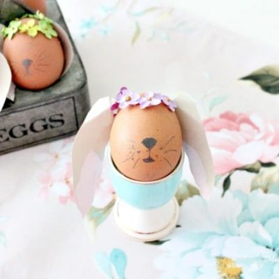 How to Make Bunny Easter Eggs