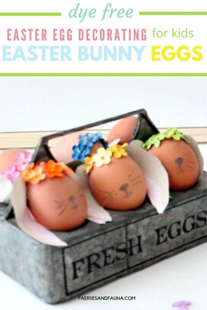 Easter Egg Decorating Easter Bunny Eggs