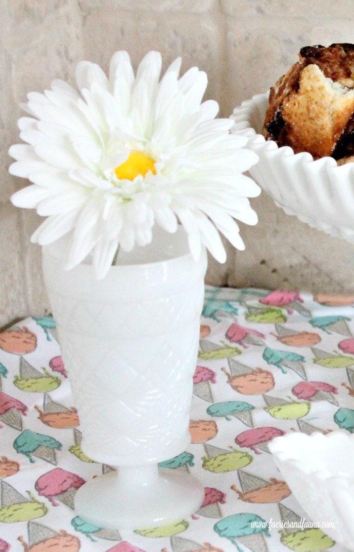 A small milk glass vase. milk glass, antique milk glass, milk glass collection, vintage milk glass, vintage glassware,