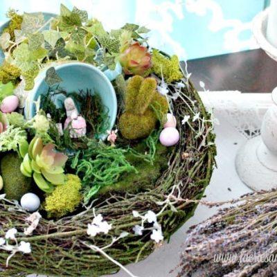 A DIY Fairy Garden