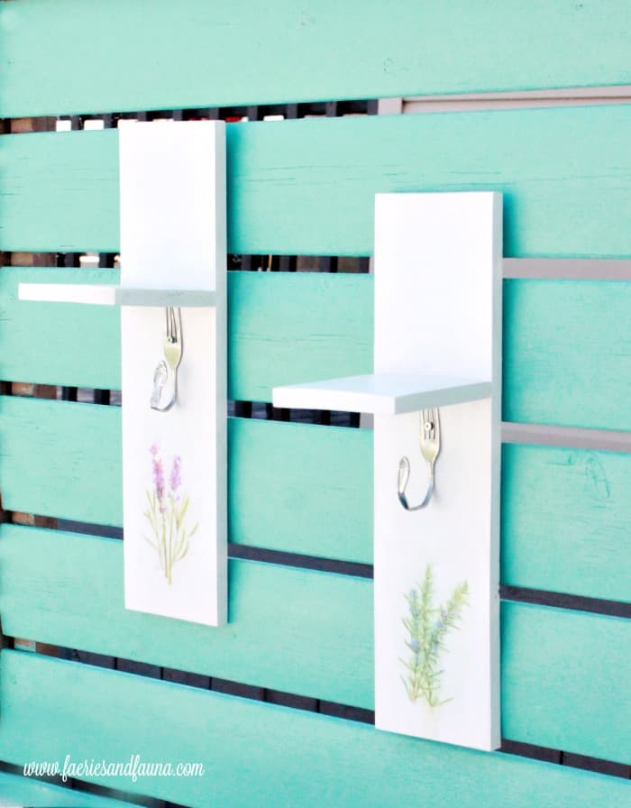 A small word working project using scrap wood to make a DIY herb or flower drying rack. Made with upcycled cutlery