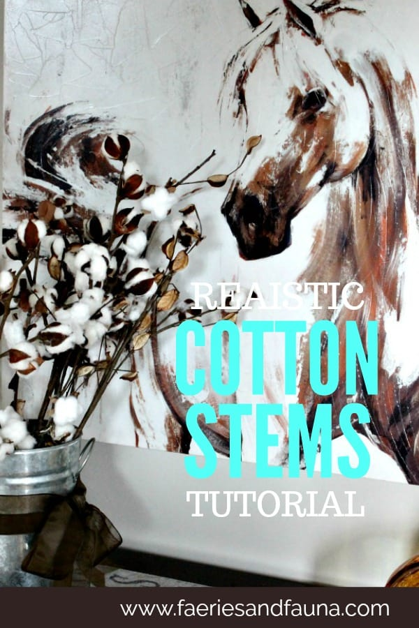 Handmade realistic cotton branches, in a vase. DIY cotton branches, cotton pod, DIY cotton stems, DIY cotton balls DIY, art and craft, DIY crafts, cotton branches, cotton craft, cotton ball crafts,