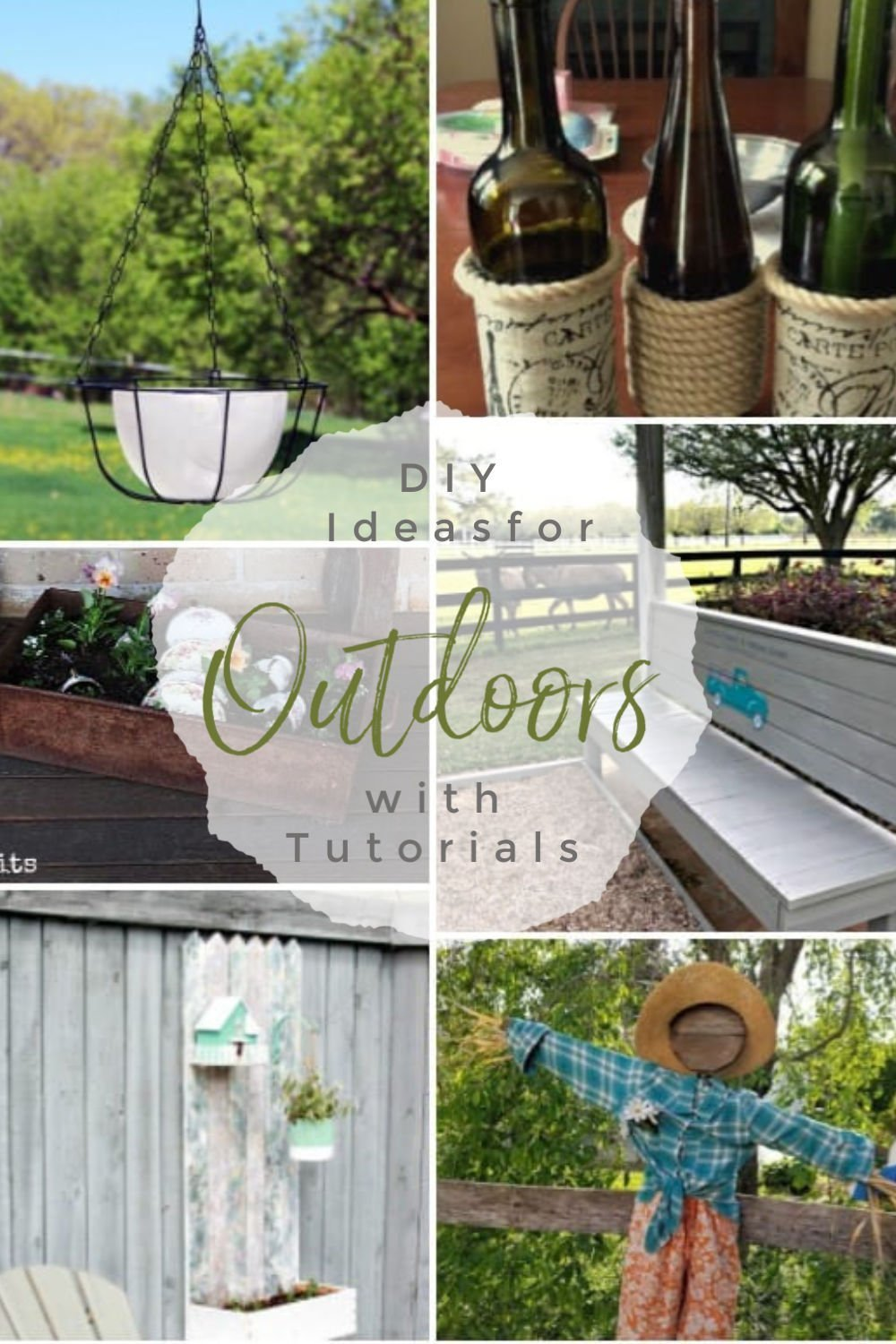 DIY projects for outdoors, garden projects