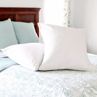 DIY European Cushion Cover with Luxurious Inserts