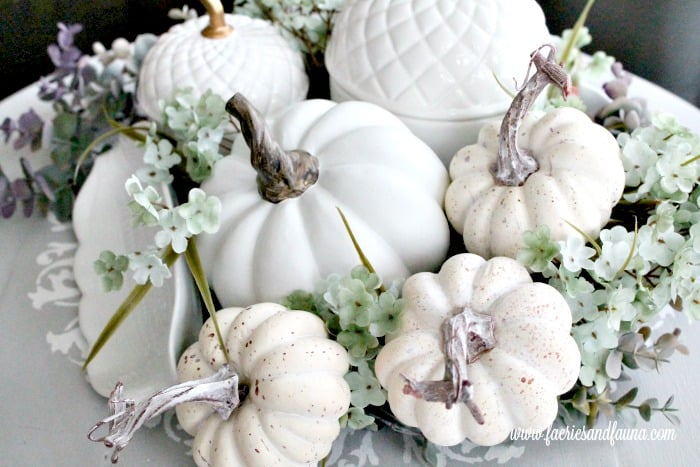 DIY Fall Centerpiece for the Kitchen