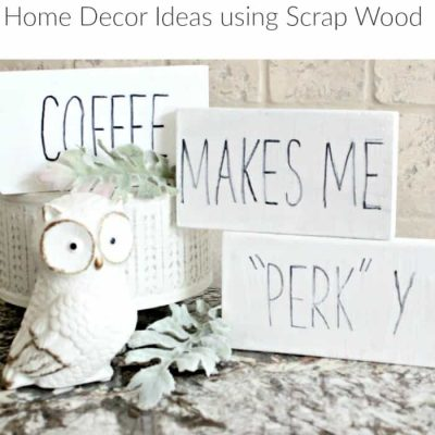 Easy to Make Fall and Halloween Wood Craft Ideas