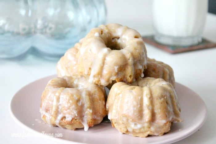 Moist and soft baked pumpkin donuts. A perfect pumpkin recipe for fall.