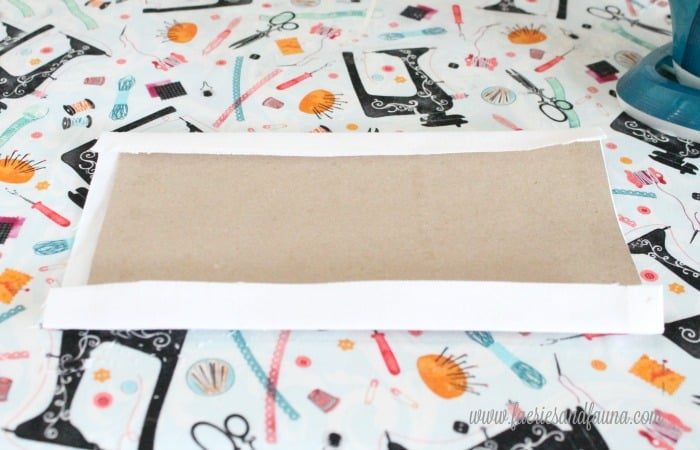 Folding fall banner panels