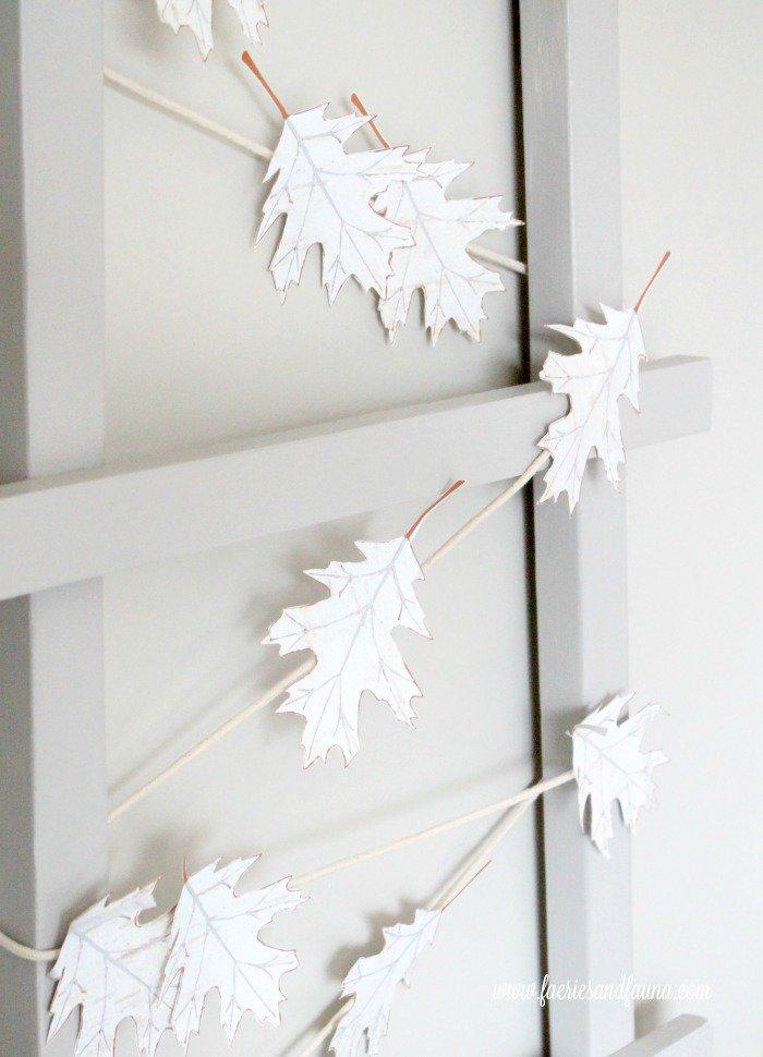 A cheap fall craft idea for DIY fall decor.
