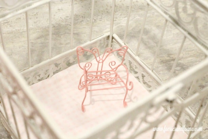 Furniture for ghost cage